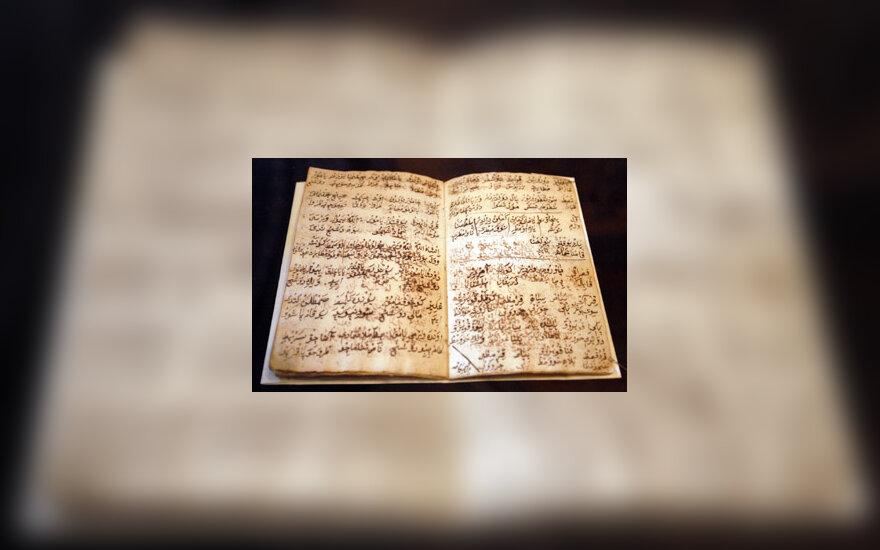 totorių rankraščiai