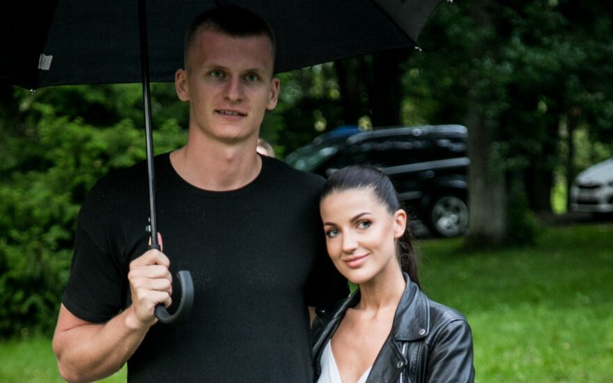 Arnas Butkevičius su žmona