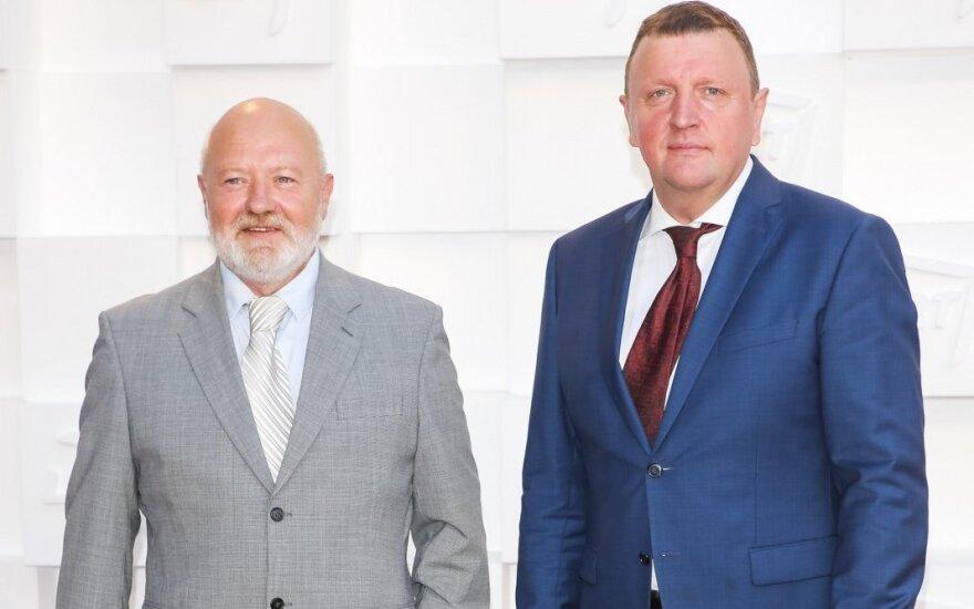 Eugenijus Gentvilas and Vitalijus Gailius