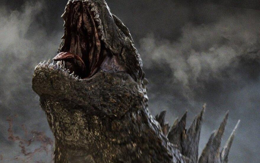 """Kadras iš filmo """"Godzila 2: Monstrų karalius"""""""