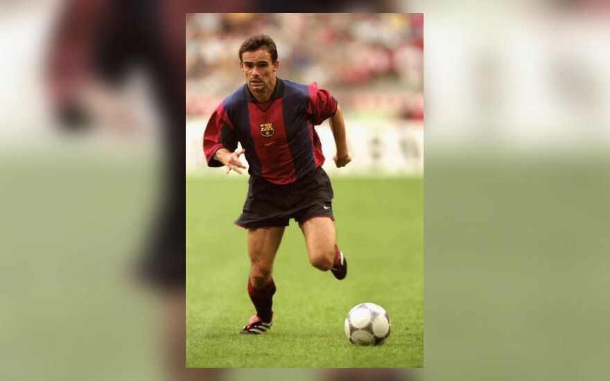 "Mark Overmars, ""FC Bacelona"""