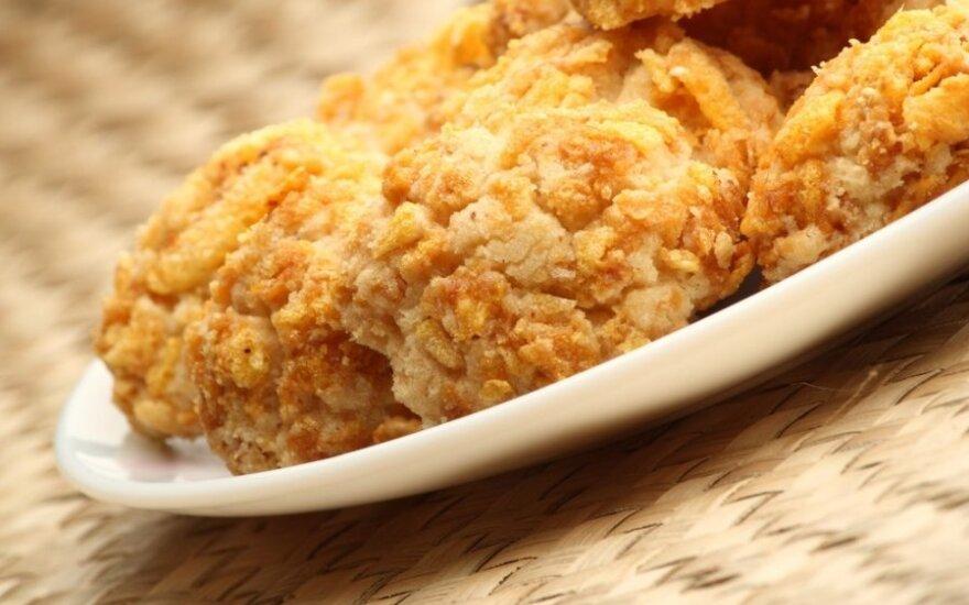 Kukurūzų dribsnių sausainiai