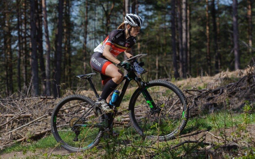 Orientavimosi sportas kalnų dviračiais / Foto: Donatas Lazauskas