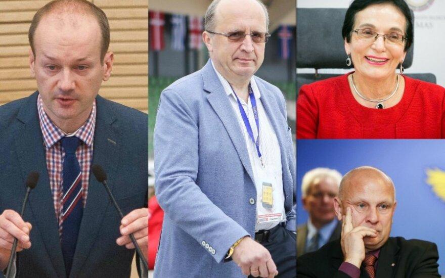 Seimo nariai pademonstravo anglų kalbos žinias