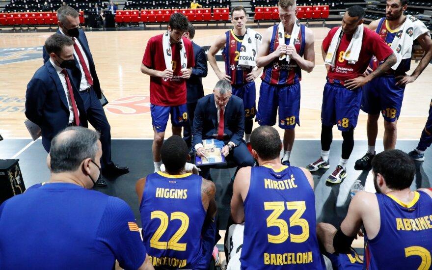 Šarūnas Jasikevičius (Barca Basket nuotr.)