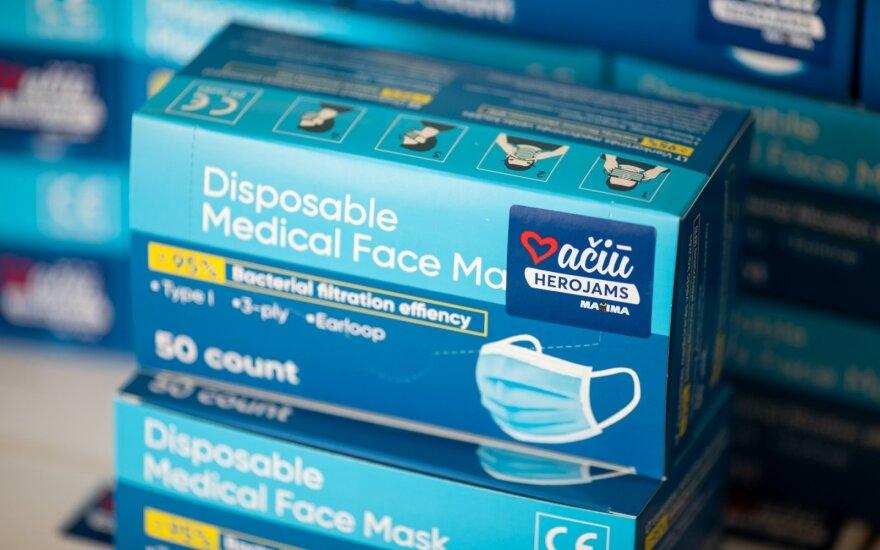 Vienkartinės veido kaukės