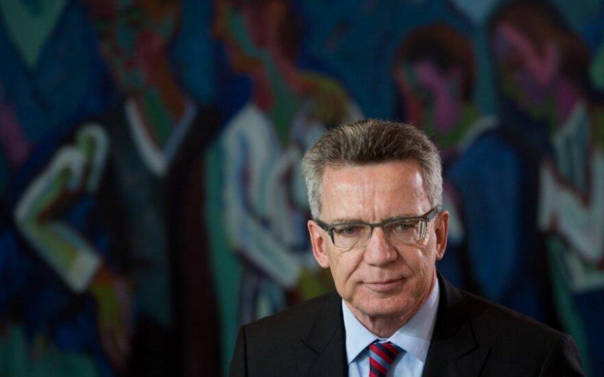 Vokietijos gynybos ministras Thomas de Maiziere