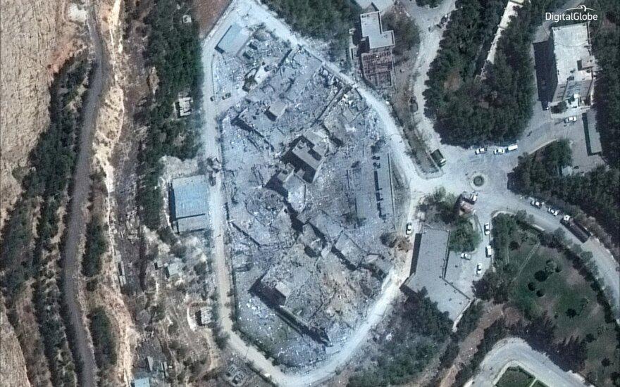 JAV dėl Sirijos pirmininkavimo boikotuoja pasaulinę Nusiginklavimo konferenciją