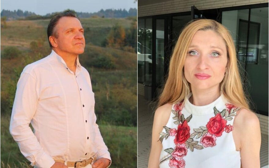 Vytautas Kurnickas ir Gražina Skinderytė-Kurnickienė
