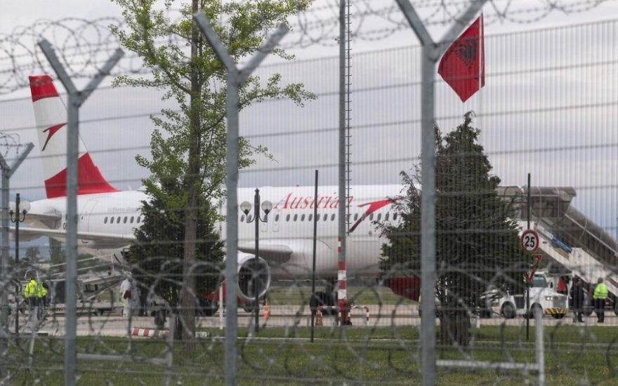 Lėktuvas, iš kurio pavogti milijonai eurų