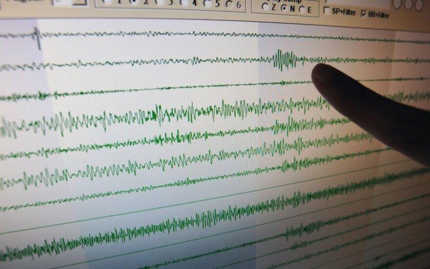 Japonijos vakarus supurtė stiprus 6,3 balo žemės drebėjimas, sužeisti 24 žmonės