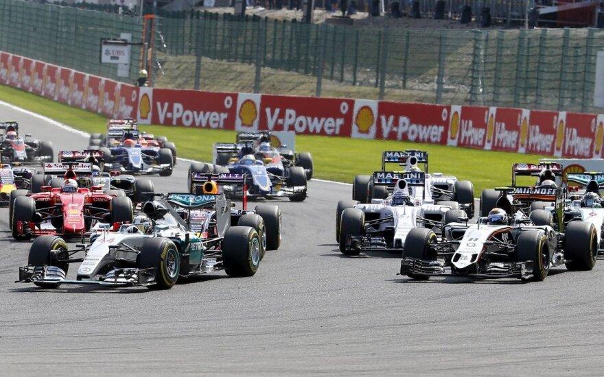 Belgijos GP lenktynės