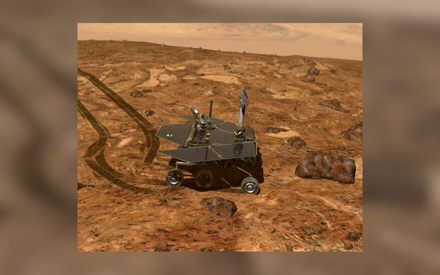 NASA nori surengti misiją Marso uolienoms į Žemę atgabenti