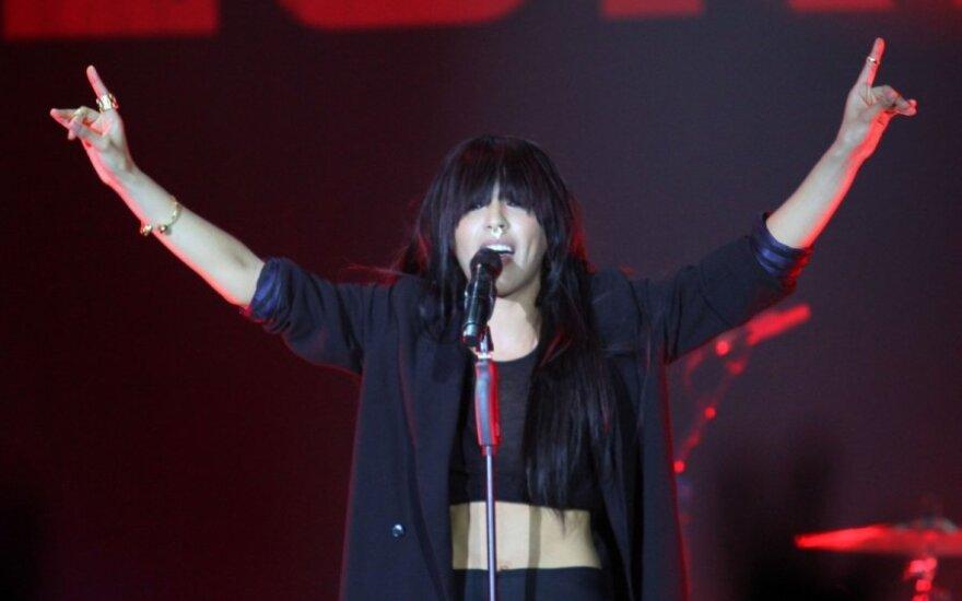 """Kauniečiai šėlo su """"Eurovizijos"""" nugalėtoja Loreen"""