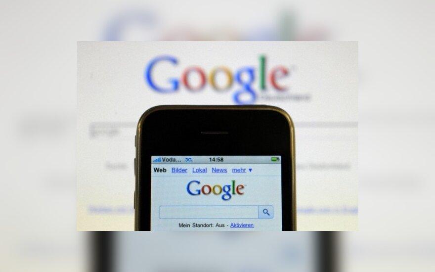 """EP ketina apriboti kai kuriuos """"Google"""" reklamos sprendimus"""