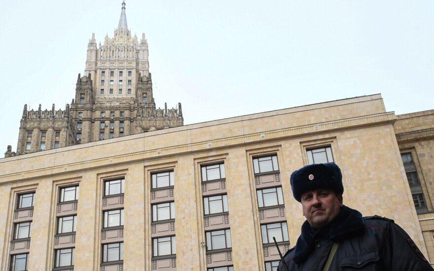 """Rusijos URM: Maskva """"teigiamai"""" vertina Bideno ir Putino susitikimo galimybę"""