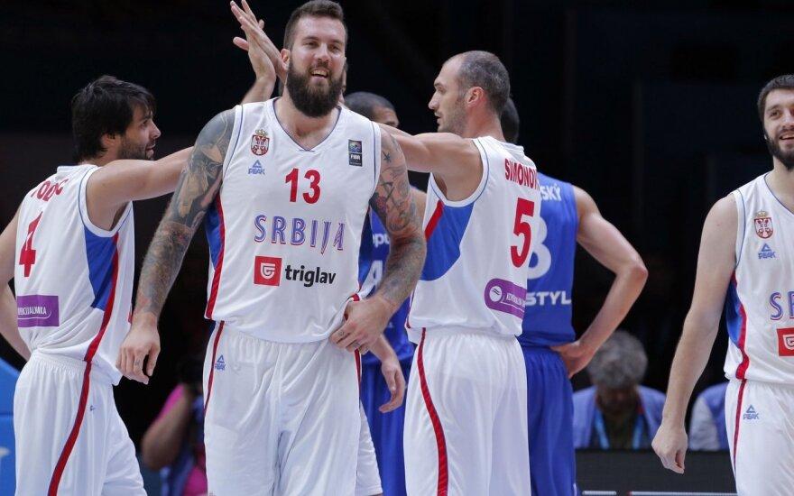 Serbijos krepšininkai