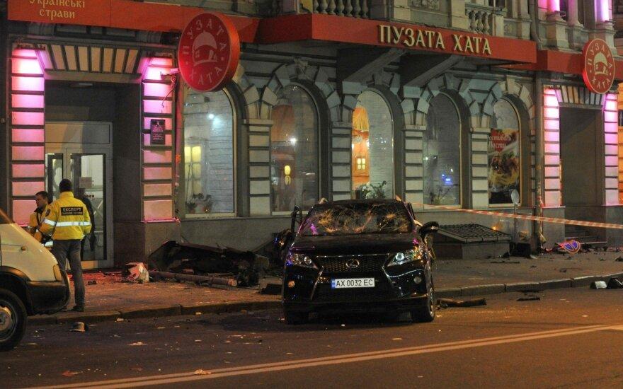 Milijonieriaus įdukros sukelta avarija Ukrainoje: prabilo kitas eismo įvykio dalyvis