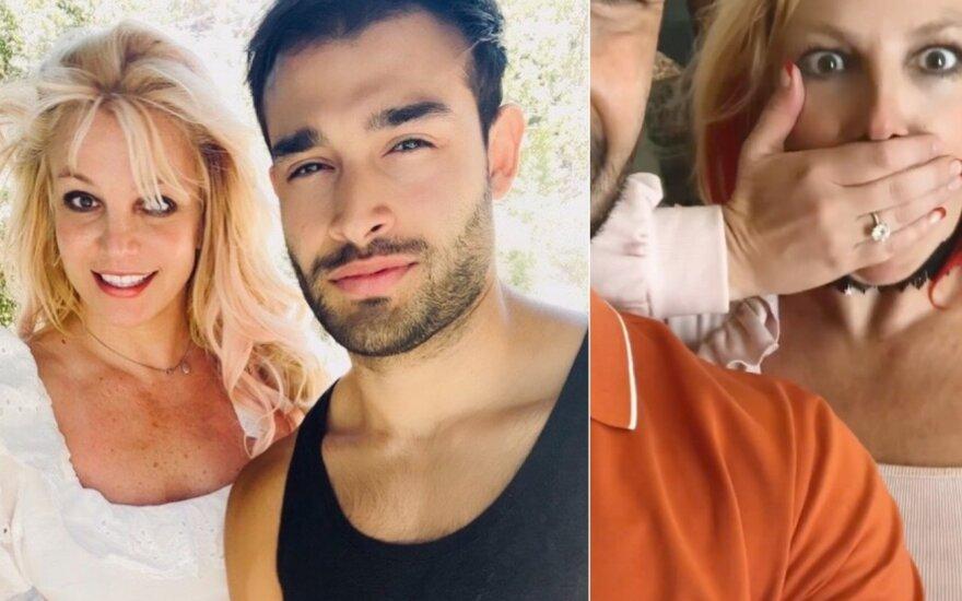 Britney Spears ir Samas Asghari