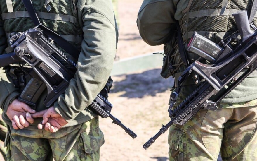German military equipment to be brought to Lithuania