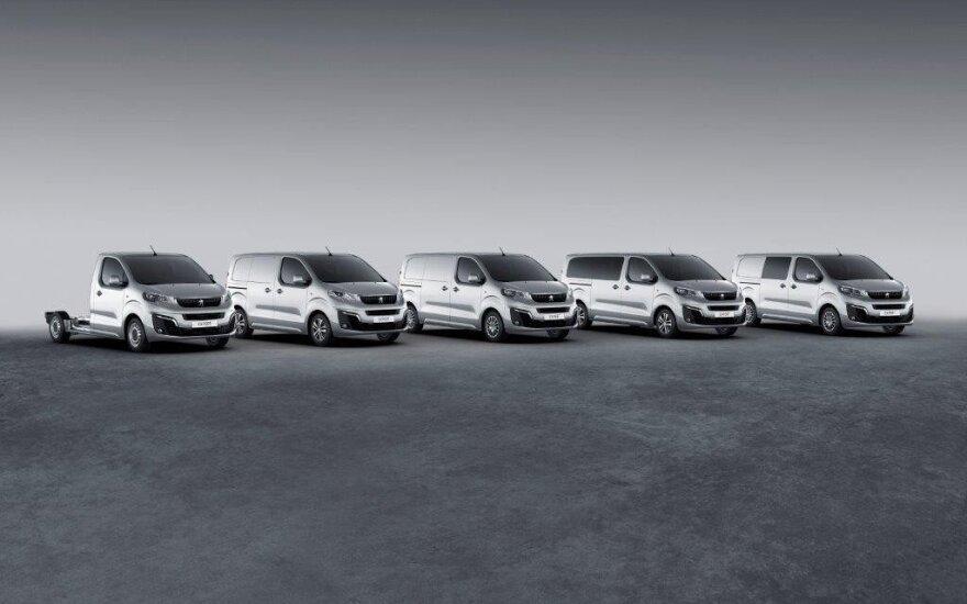 """""""PSA Peugeot Citroen"""" pardavimus nusmukdė valiutos"""