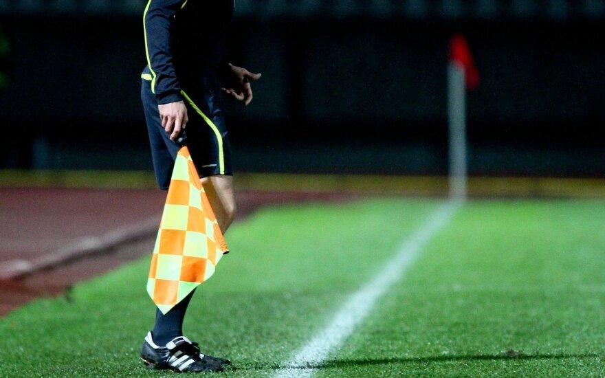 Paskirta teisėjų brigada LFF taurės finalui