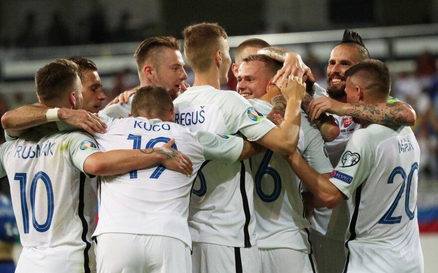 Slovakijos futbolo rinktinė