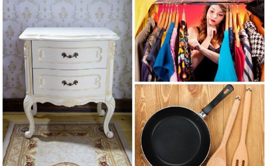 Dovanoti žmonės nori įvairius daiktus - pradedant drabužiais, baigiant baldais ir keptuvėmis/ Asociatyvi nuotr.