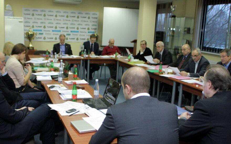 LFF Vykdomojo komiteto posėdis