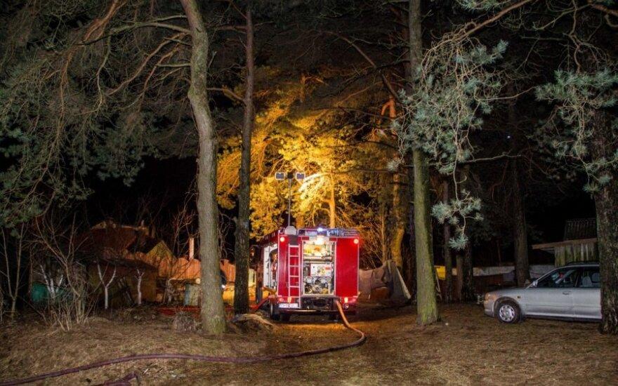 Švenčionių r. naktį kilęs gaisras pražudė vyrą