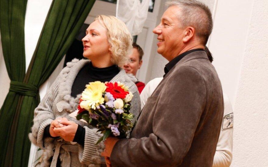 Inga Norkutė-Žvinienė ir Ričardas Garbačiauskas