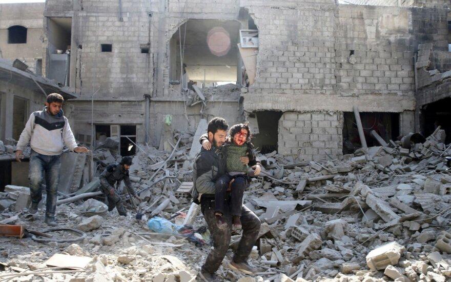 Turkijos kariuomenė skelbia, jog trauksis iš Afrino Sirijoje