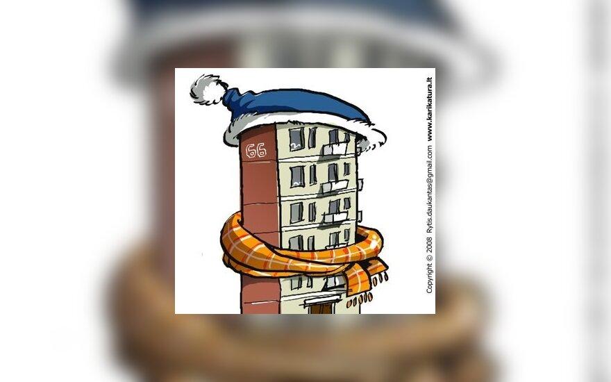 Valdžia nuo šiol finansuos tik 15 proc. būsto atnaujinimo išlaidų