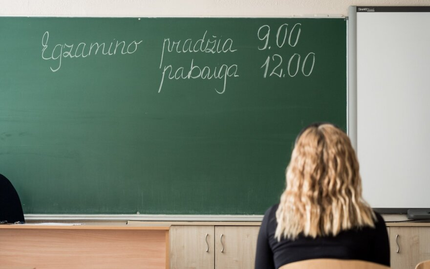Abiturientai laikys informacinių technologijų valstybinį egzaminą