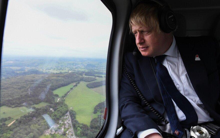 """Borisas Johnsonas: """"Brexit"""" išgelbėti dar ne per vėlu"""""""