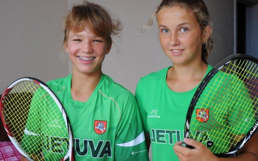 Akvilė Paražinskaitė ir Justina Mikulskytė