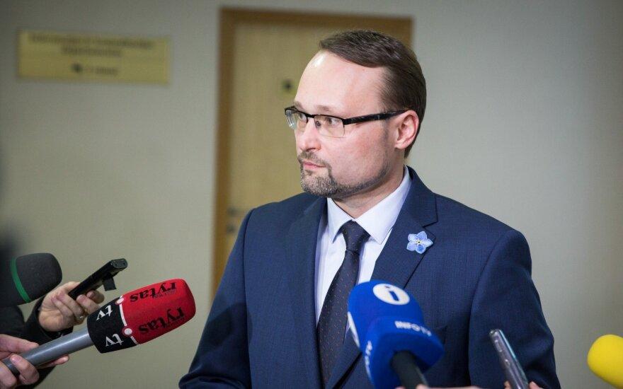 Darbą pradeda naujas kultūros ministras Kvietkauskas