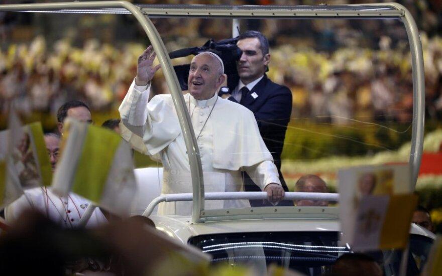 Popiežius Pranciškus Tailande