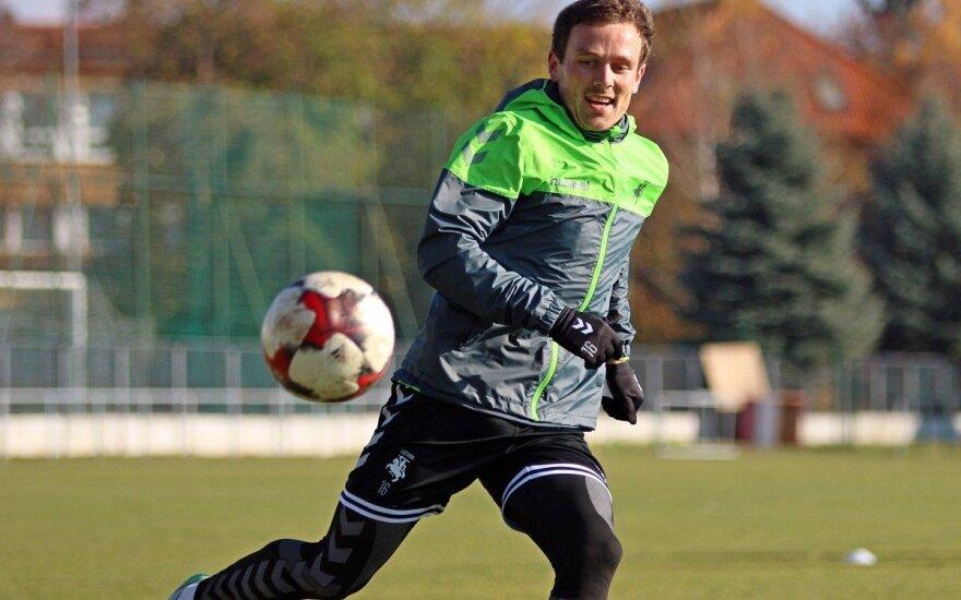 """""""Kauno Žalgiryje"""" – Lietuvos futbolo rinktinės kandidatas"""