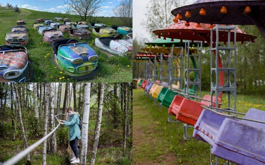 Netoli Vilniaus rado milžinišką pramogų parką, kuriame galima pramogauti nemokamai visą dieną