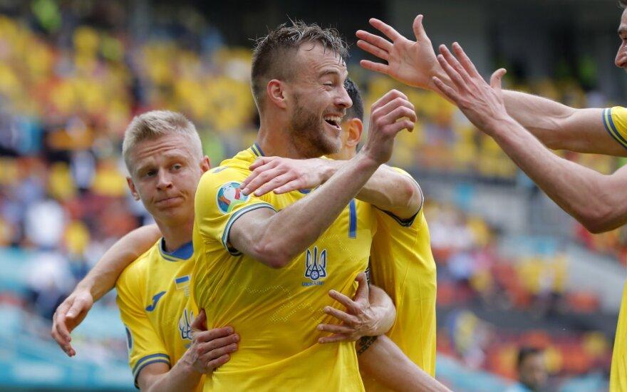 Euro 2020: Ukraina – Šiaurės Makedonija