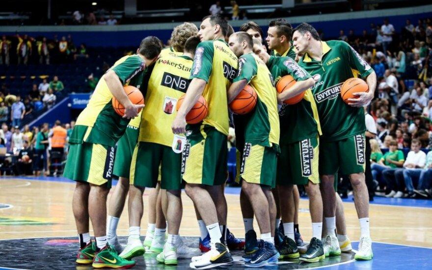 Lažybininkai: Lietuvos krepšininkai Europos čempionate užims ketvirtą vietą!