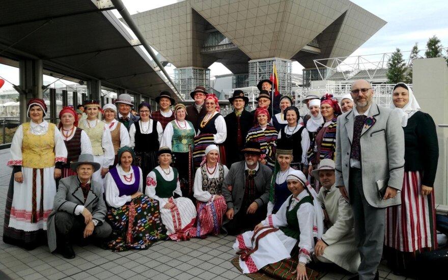 Japonijoje pristatyta Lietuvos dainų šventė FOTO: LNKC