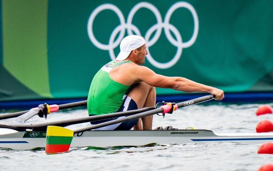 Mindaugas Griškonis olimpiniame irklavimo finale