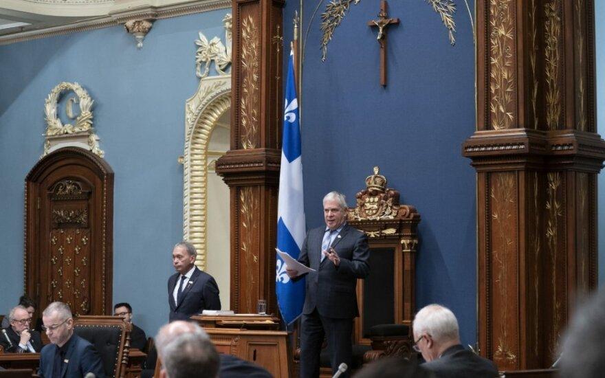 Kvebeko Nacionalinės asamblėjos pirmininkas  Francois Paradis