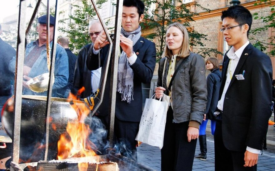 Japanese tourists feel at home in Lithuania