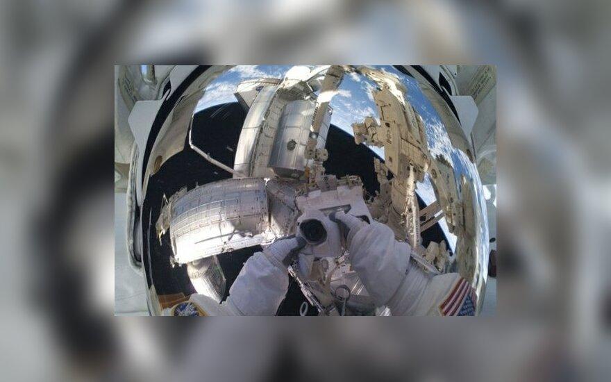 NASA astronauto fotoportretas