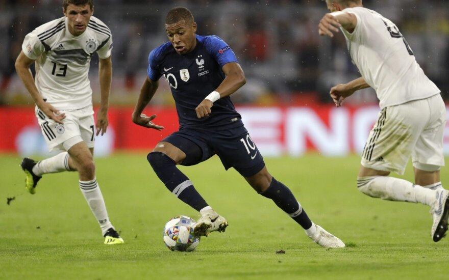 UEFA Tautų lyga: Vokietija – Prancūzija