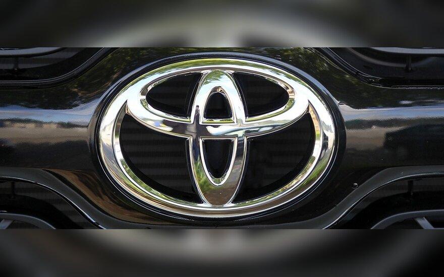 """""""Toyota"""": gamyklos JAV visu pajėgumu dirbs jau rugsėjį"""