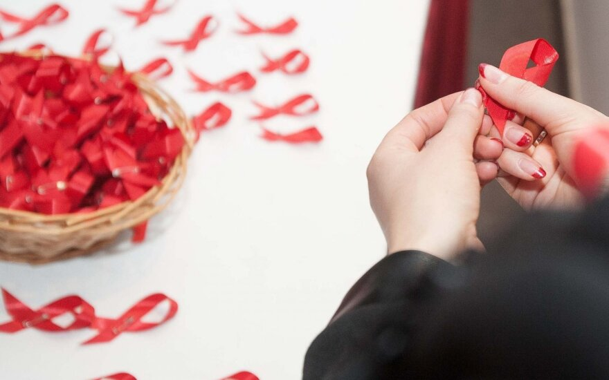 157 HIV cases in Lithuania in 2015
